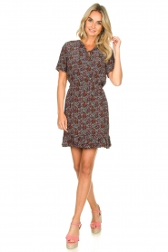 Freebird |  Floral dress Noena | black  | Picture 3