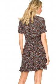 Freebird |  Floral dress Noena | black  | Picture 6