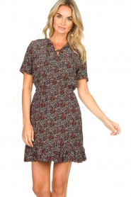 Freebird |  Floral dress Noena | black  | Picture 4