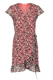 Freebird |  Dress with flowerprint Rosy | black  | Picture 1