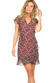 Freebird |  Dress with flowerprint Rosy | black  | Picture 4