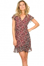 Freebird |  Dress with flowerprint Rosy | black  | Picture 2