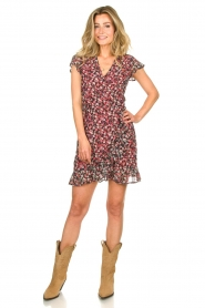 Freebird |  Dress with flowerprint Rosy | black  | Picture 3