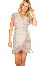Freebird |  Floral dress Rosy | pink  | Picture 4