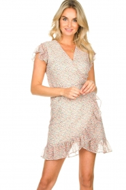 Freebird |  Floral dress Rosy | pink  | Picture 2