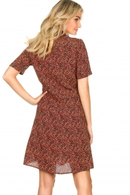 Freebird |  Dress with floral print Suzy | black  | Picture 6
