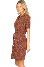 Freebird |  Dress with floral print Suzy | black  | Picture 5