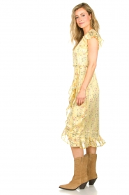 Freebird |  Dress with flowerprint| yellow  | Picture 5