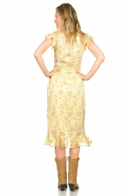 Freebird |  Dress with flowerprint| yellow  | Picture 6