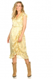 Freebird |  Dress with flowerprint| yellow  | Picture 2