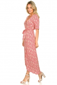 Freebird :  Printed maxi dress Levi | red - img5