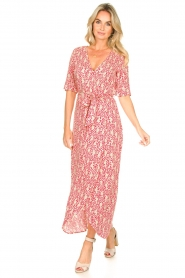 Freebird :  Printed maxi dress Levi | red - img3