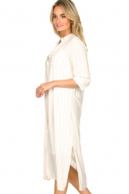 Freebird |  Dress with stripes|white  | Picture 5