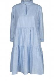 Sofie Schnoor    Lurex dress Lizzy   blue    Picture 1