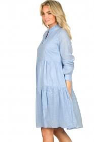 Sofie Schnoor    Lurex dress Lizzy   blue    Picture 6