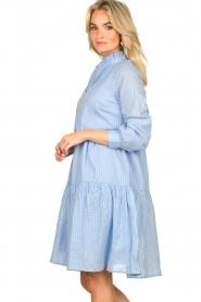 Sofie Schnoor    Lurex dress Lizzy   blue    Picture 5
