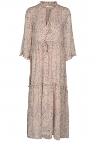 Sofie Schnoor |  Printed maxi dress Ivalo | nude  | Picture 1