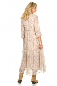 Sofie Schnoor |  Printed maxi dress Ivalo | nude  | Picture 5