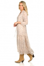 Sofie Schnoor |  Printed maxi dress Ivalo | nude  | Picture 4
