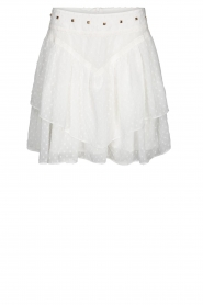 Sofie Schnoor |  Layered skirt Lara | white  | Picture 1