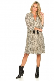 Sofie Schnoor |  Printed dress Giselle | beige  | Picture 3