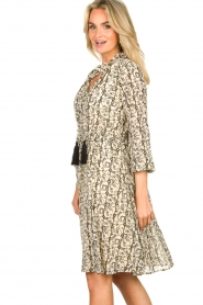 Sofie Schnoor |  Printed dress Giselle | beige  | Picture 5
