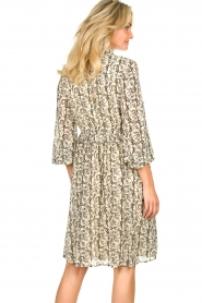 Sofie Schnoor |  Printed dress Giselle | beige  | Picture 6