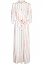 Sofie Schnoor |  Striped maxi dress Lula | white  | Picture 1