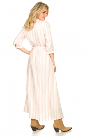 Sofie Schnoor |  Striped maxi dress Lula | white  | Picture 6
