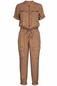Sofie Schnoor |  Jumpsuit with pockets Herle | brown  | Picture 1