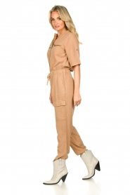 Sofie Schnoor |  Jumpsuit with pockets Herle | brown  | Picture 5