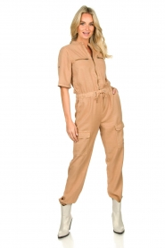 Sofie Schnoor |  Jumpsuit with pockets Herle | brown  | Picture 2