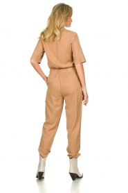 Sofie Schnoor |  Jumpsuit with pockets Herle | brown  | Picture 6