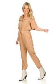 Sofie Schnoor |  Jumpsuit with pockets Herle | brown  | Picture 3