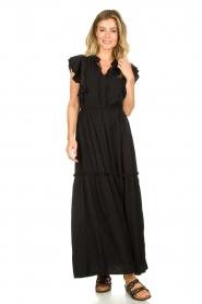 Sofie Schnoor |  Buckle sandals Micky | black  | Picture 2