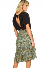 Aaiko | Skirt with print Arida | blue   | Picture 6