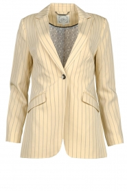 Aaiko |  Pinstripe blazer Adeline | natural  | Picture 1