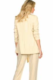 Aaiko |  Pinstripe blazer Adeline | natural  | Picture 7