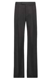 Aaiko |  Wide leg trousers Chantalle | black  | Picture 1