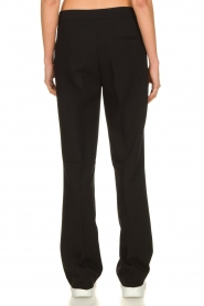 Aaiko |  Wide leg trousers Chantalle | black  | Picture 5