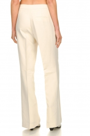 Aaiko |  Wide leg trousers Chantalle | naturel  | Picture 5