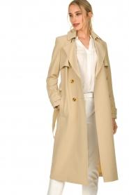 Aaiko |  Trench coat Tuana | beige  | Picture 2