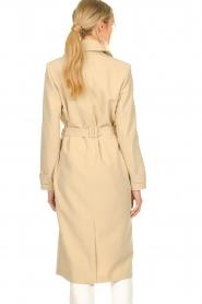 Aaiko |  Trench coat Tuana | beige  | Picture 7