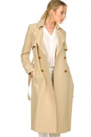 Aaiko |  Trench coat Tuana | beige  | Picture 5