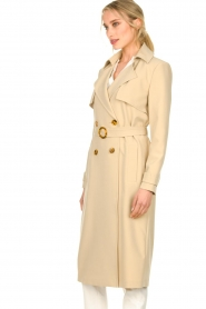 Aaiko |  Trench coat Tuana | beige  | Picture 6