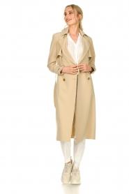 Aaiko |  Trench coat Tuana | beige  | Picture 3