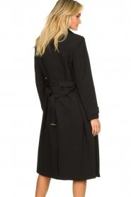 Aaiko |  Trench coat Tuana | black  | Picture 7