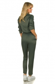 Aaiko |  Jumpsuit with drawstring Havane | green   | Picture 4