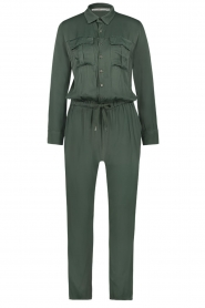 Aaiko |  Jumpsuit with drawstring Havane | green   | Picture 1