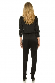 Aaiko |  Jumpsuit with drawstring Havane Vis | black  | Picture 5